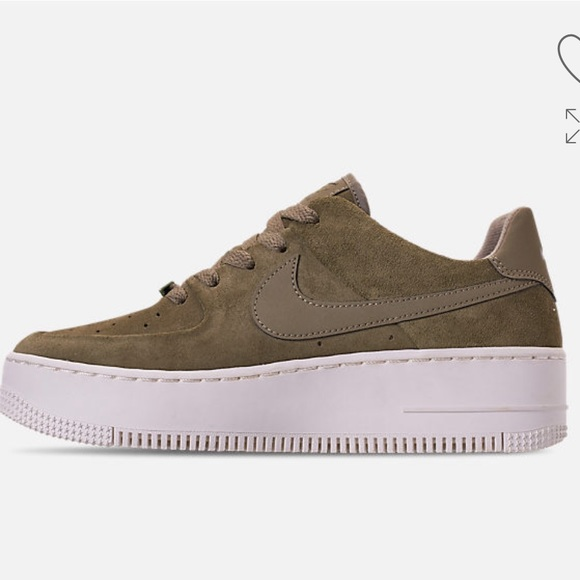 new products 9cea2 0bcaa Women's Nike AF1 Sage XX low casual shoes NWT